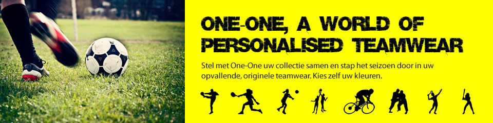 One-One Teamwear - A world of personalised teamwear